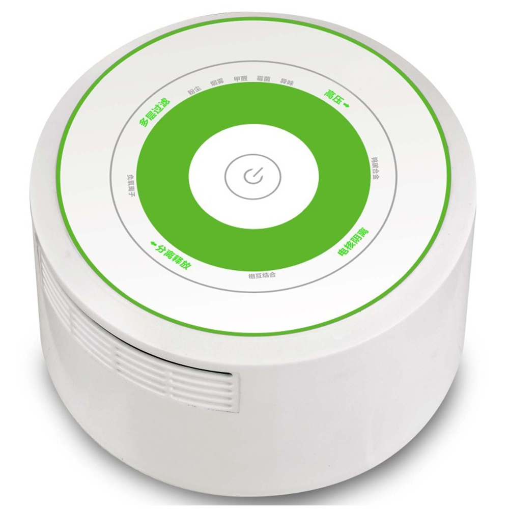 ФОТО Wholesale price compact room/office mini STR air purifier in white with free shipping USB/DC adapter powered