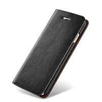 Cover For Samsung Note 3 4 5 7 Cases Flip Black Genuine Leather Wallet Phone Back