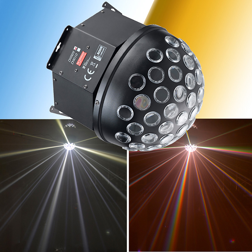 Fashion LED Sound - control Light Crystal Magic Ball Rotating Lights For KTV Bars Skating Rink Laser Lights Stage Lighting Lamp alluminum alloy magic folding table bronze color magic tricks illusions stage mentalism necessity for magician accessories