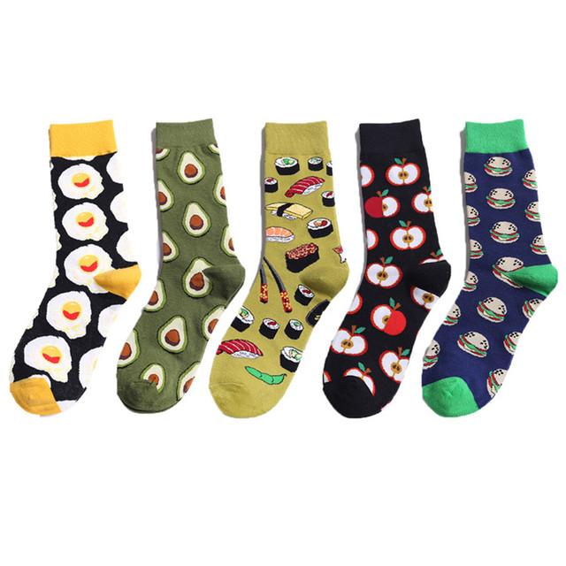 Cotton Socks  Colorful Socks NEW 2019 fashion funny