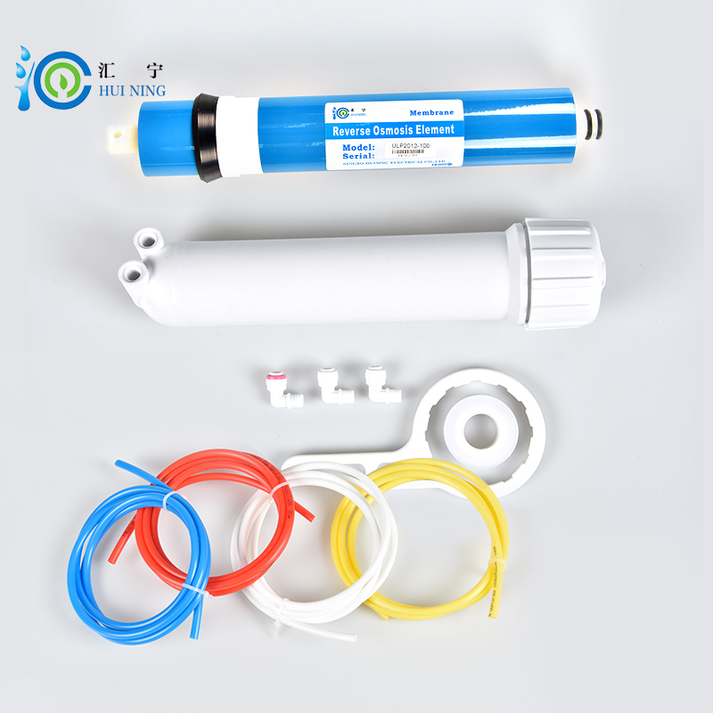 free shipping Water purifier 100gpd RO Membrane + ULP1812-100 RO Membrane Housing + Reverse Osmosis Water Filter water filter 75g ro membrane and membrane housing with connector and wrench for reverse osmosis water purifier