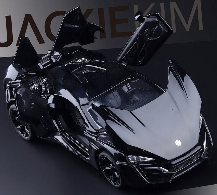 Lykan Hypersport Car Model High Quality Alloy Die Cast Metal Cars Collection Toys