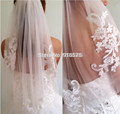 2017 New New Arrival Diamond Veil Short Design Single Layer Wedding Veil Bridal Dress Middle Length With Comb