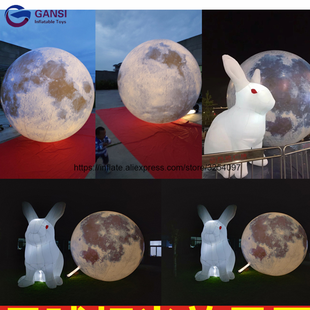 inflatable moon24