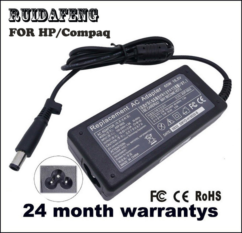 18.5 V 3.5A 65 W Laptop Adapter Oplader Power Voor HP Pavilion DV5 - Notebook accessoires