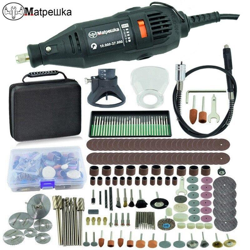 Dremel estilo 180 W grabador Multi-función de Rotary Mini taladro eléctrico de la máquina de grabado de DIY herramientas