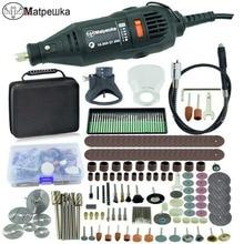 Dremel estilo 180 w gravador multi função rotativa mini máquina de moagem de broca elétrica moedor de gravura diy ferramentas elétricas criativas