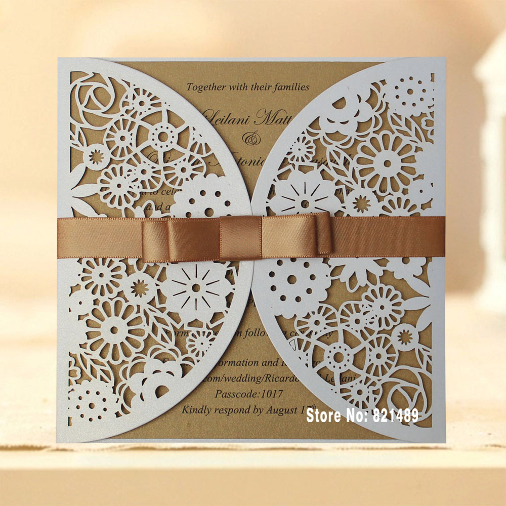 packs of wedding invites search on aliexpress com by image - Cheap Wedding Invitations Packs