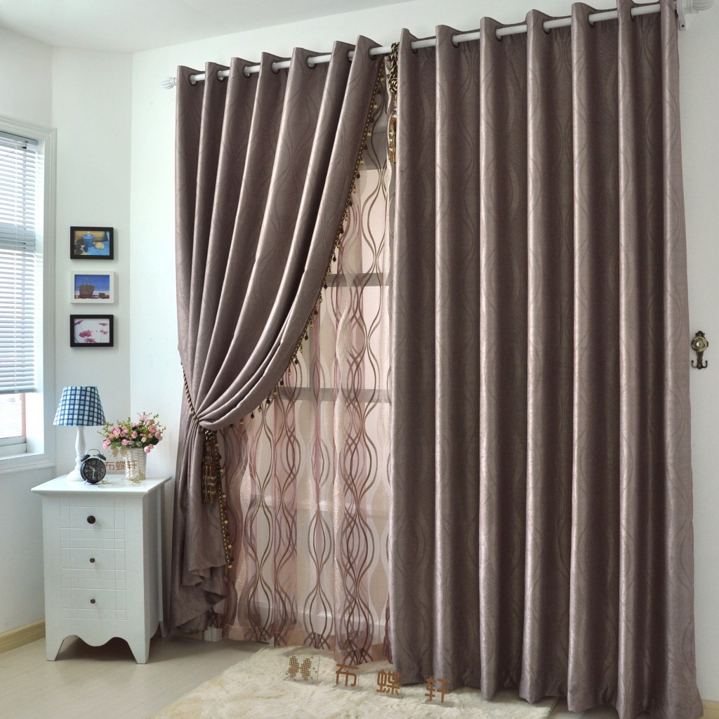 Dining Room With Gold Curtains