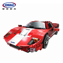 XingBao 03011 919Pcs Technic Car Series The Red Phantom Racing Car Set Building Blocks Bricks Compatible Legoings Technic Car цены