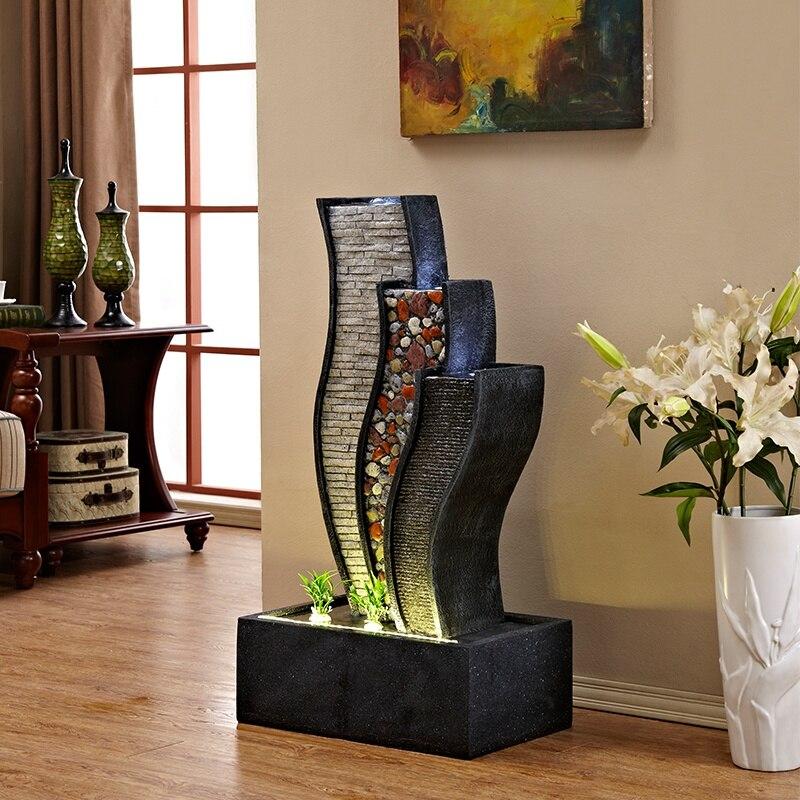 wody fontanna dekoracji pod ogi balkon dekoracji staw skalny okr g e salonie dekoracji feng shui. Black Bedroom Furniture Sets. Home Design Ideas