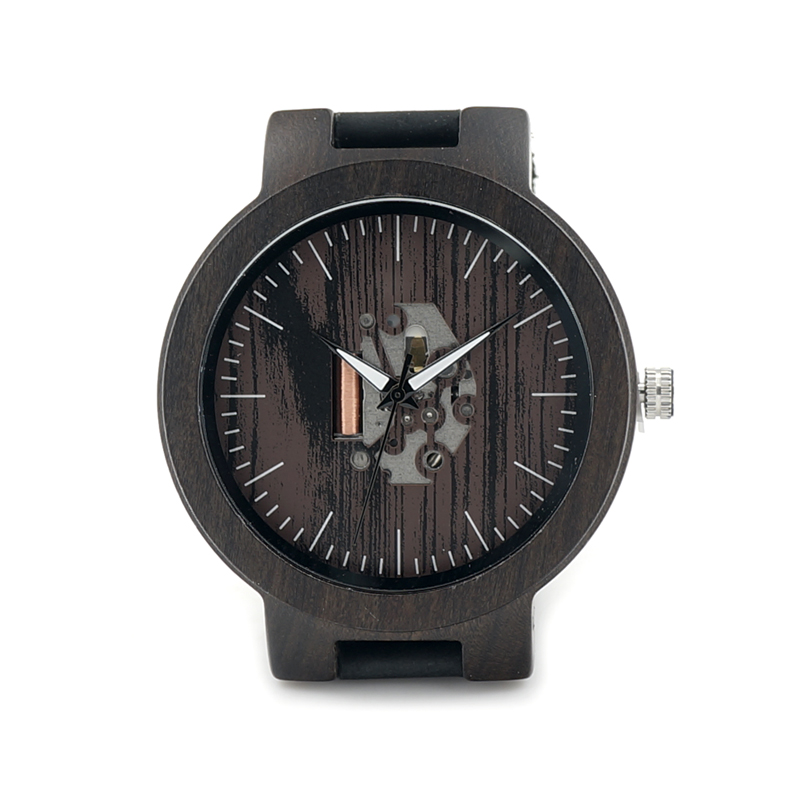 Luxury Brand BOBO BIRD Men Watch Luminous Wooden Watches Genuine Leather Band Wristwatch relogio masculino B-H30 bobo bird top brand men watch luxury wood watches with genuine leather strap relogio masculino