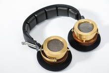 brass headphone Pure copper shell 50mm driver Fever headset
