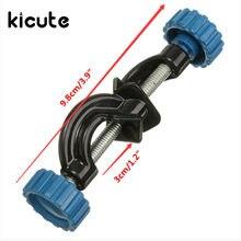 KiCute Lab стенды из двойной металлической рукоятки поддерживает правый угол зажим провода зажимы держатель химический лабораторный зажим офисные принадлежности