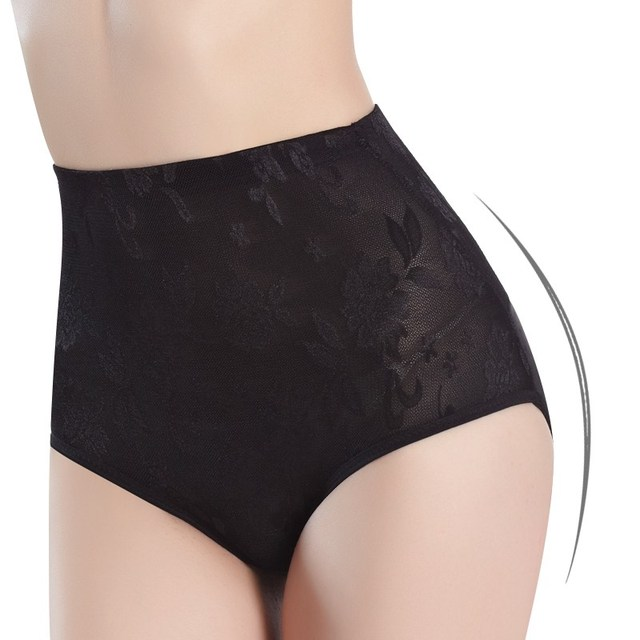 73351a54b7874 Women seamless tummy Belly Control Waist Slimming Shapewear Shaper Panty High  waist corset panties Girdle Lace