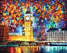 palette knife oil painting  modern oil painting canvas oil painting  K516