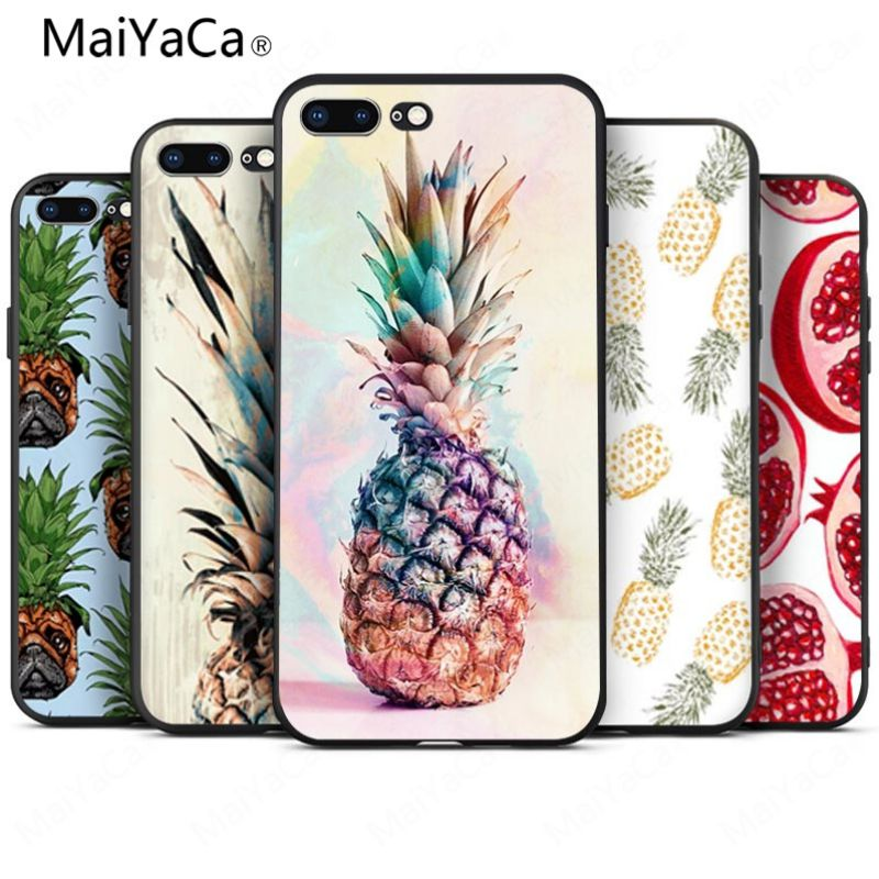 MaiYaCa pineapple On Sale Luxury Cool Phone Accessories Case For iphone 8 8plus