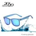 20/20 moda óculos polarizados homens óculos flutuantes viajar oculos mulheres óculos de sol new floatable tpx003