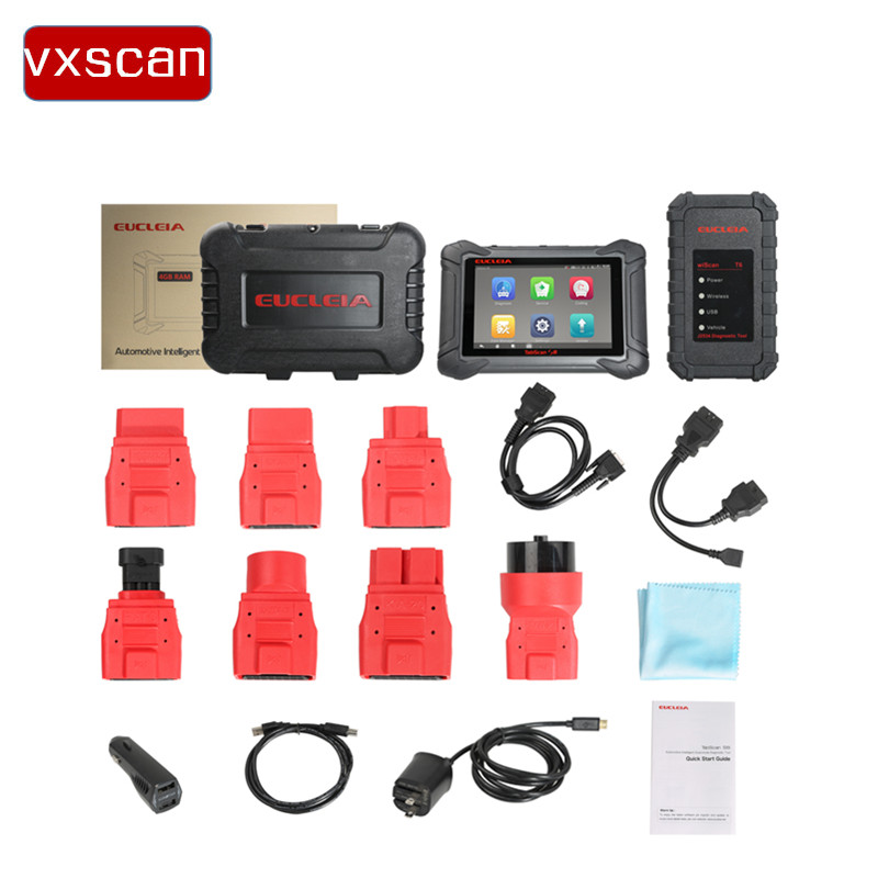 Origional EUCLEIA TabScan S8 Automotive Intelligent Dual-mode Diagnostic System