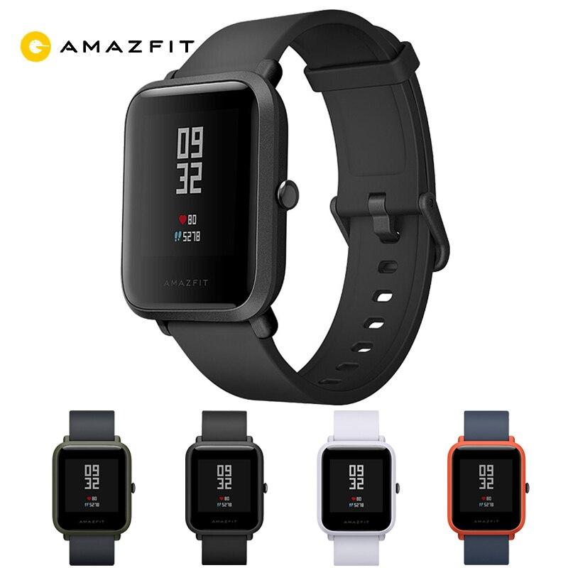 Englisch Version HUAMI Amazfit Smart Uhr Jugend Ausgabe Bip BIT TEMPO Lite 32g ultra-light Bildschirm 1,28