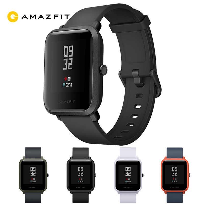 English Version HUAMI Amazfit Smart Watch Youth Edition Bip BIT PACE Lite 32g Ultra Light Screen