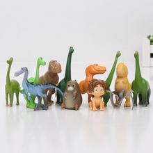 12pcs/set 2.5-7cm The Good Dinosaur PVC Figure Arlo Spot Henry Butch Mini Model Toy Cool for Kids