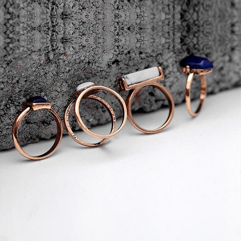 Vintage rings 4 PCS 3