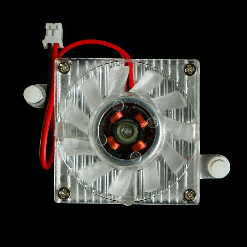 New DC 12V 2pin PC Computer Desktop Box CPU Cooler Cooling Fan 1 2 5pcs 3 pin cpu 5cm cooler fan heatsinks radiator 50 50 10mm cpu cooling brushless fan ventilador for computer desktop pc 12v