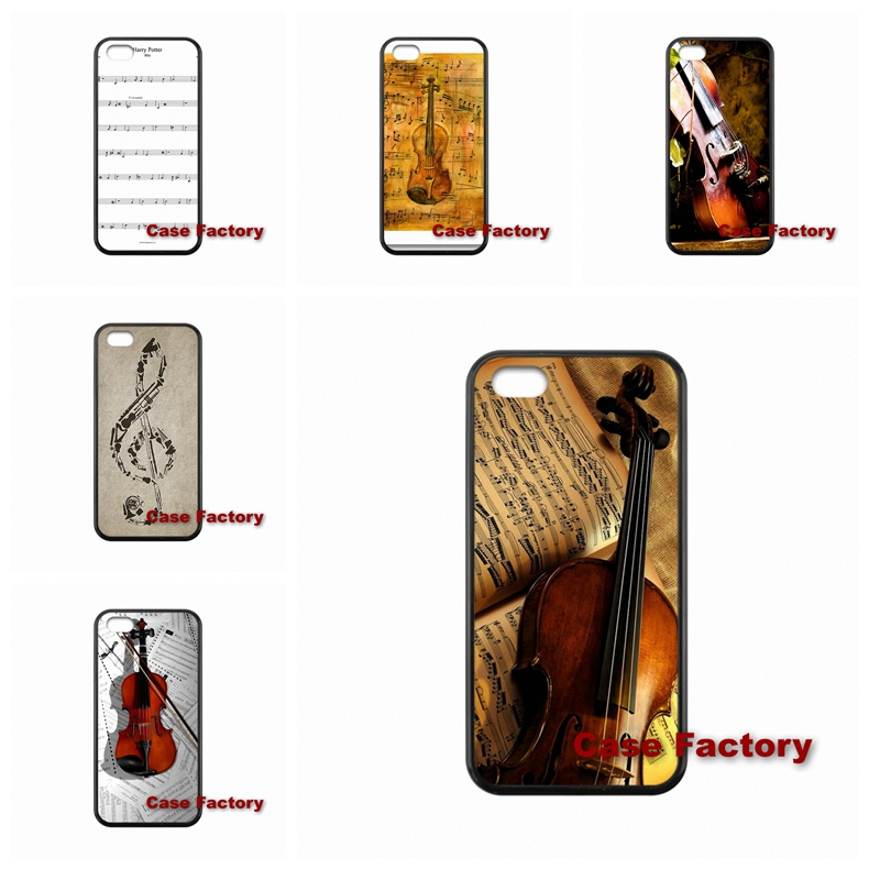 font b Violin b font and Musical Note For Sony Xperia C M2 Z Z1