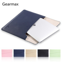 Newest Fashion Leather Sleeve Case For MacBook Air 11 AIR 13 Retina 12 13 3 15