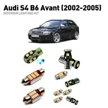 Led interior lights For Audi s4 b6 avant 2002-2005  18pc Led Lights For Cars lighting kit automotive bulbs Canbus цена