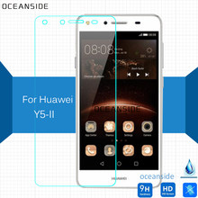 2Pcs For Huawei Y5II Tempered glass Screen Protector Safety Protective Film on Y5 II 2nd CUN-L03 CUN-L23 CUN-L33(China)