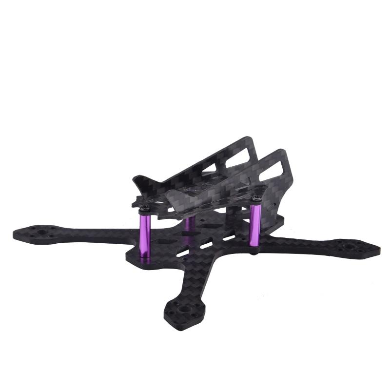 Impressionnant Q100 100mm Drone cadre Kit empattement Mini pur fibre de carbone quatre axes avion cadre Kit pour quadrirotor FPV course drone