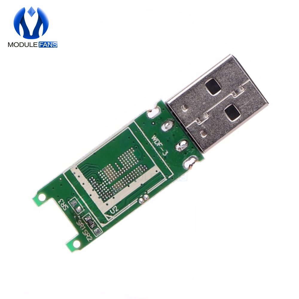 USB 2 0 EMMC Adapter EMCP 162 186 PCB Main Board Module Without Flash  Memory EMMC Adapter With Shell Case Box