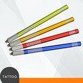 New Manual Tattoo Pen Blades Needles Holder Permanent Makeup Eyebrow Lip Body Make up Round Cross Tip Anti-slip Pencil 2017
