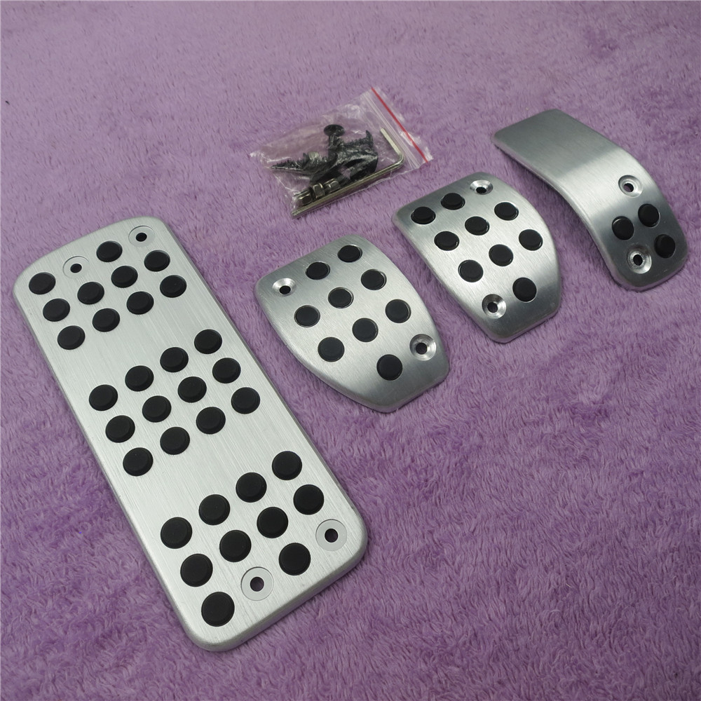 DEE Car Gas Foot Rest Modified Pedal Pad Plate for PEUGEOT 207 301 307 208 2008 308 408 cc/CITROEN C3 C4/DS 3 4 6 DS3 DS4 DS6