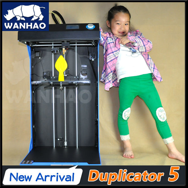 2015 wanhao newest 3d printer duplicator 5S large size industry level