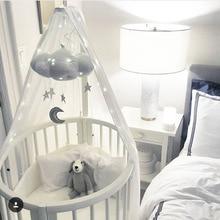 Lm908 Baby Mobile Moon And Stars Nursery Decor Gift Crib