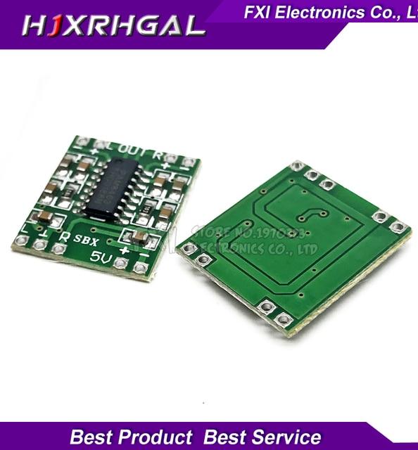 5pcs PAM8403 module Super board 2 * 3W Class D digital amplifier board efficient 2.5 to 5V USB supply new
