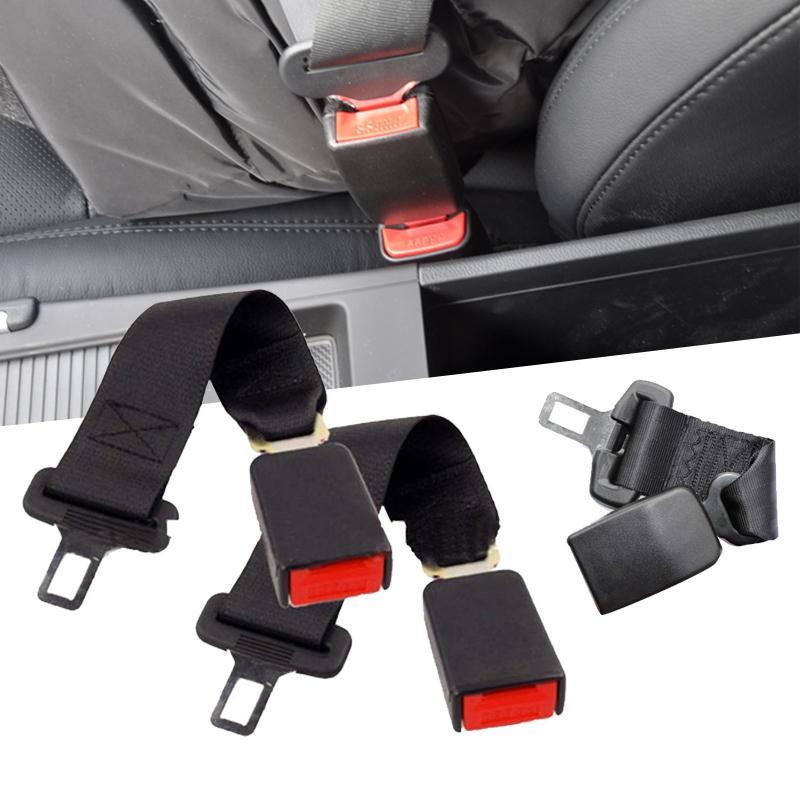 Vehemo 1pcs Universal 14 Auto Car Seat Seatbelt Safety Extender Belt Extension 7/8 Buckle Fitting Comfort Black блуза александра kristina блуза александра