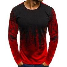 NIBESSER A Maniche Lunghe Fitness Magliette Degli Uomini Stampati  Camouflage Maschio T-Shirt Gonne e Pantaloni 3XL Plus Size Tee. 7e8a1dd20a81