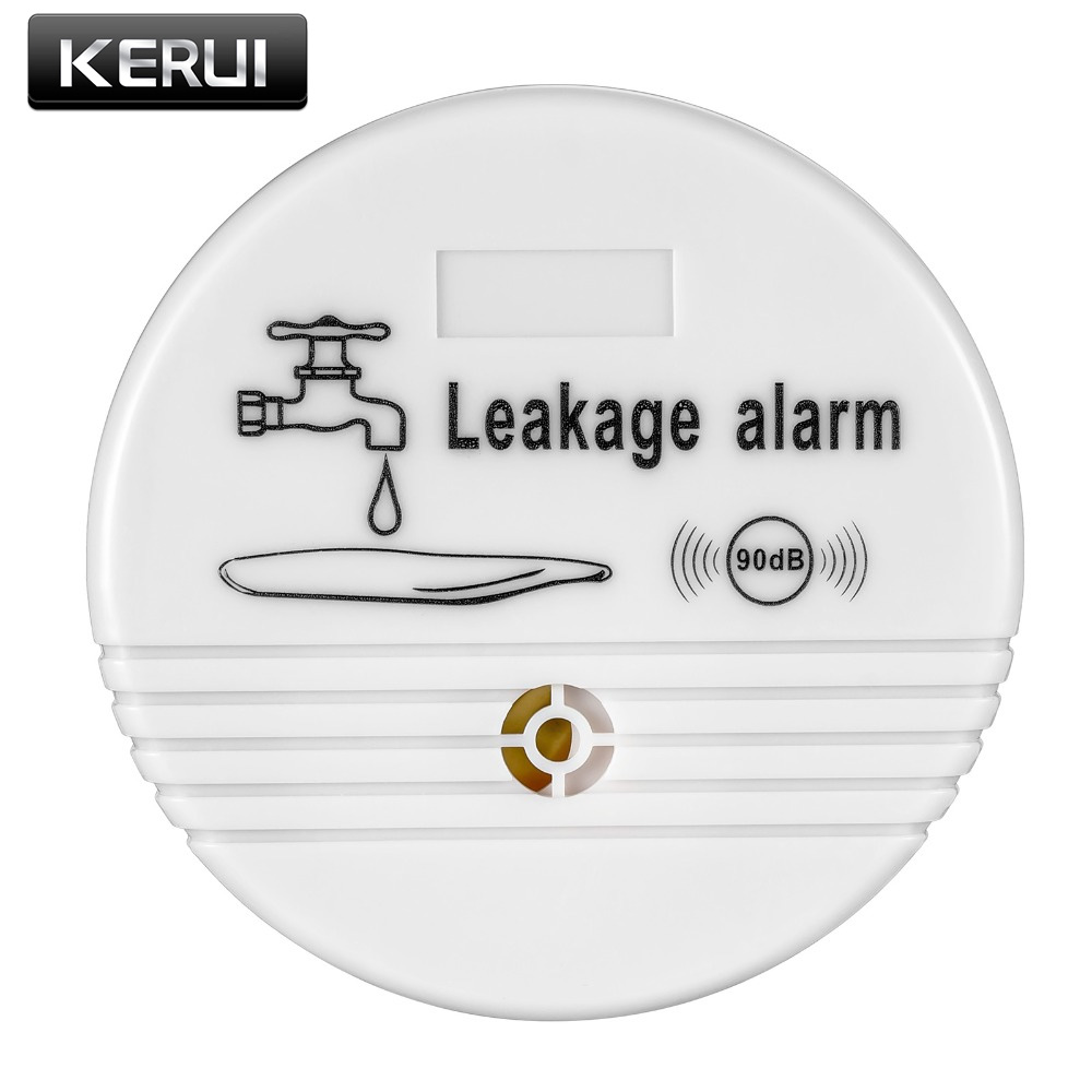 Free shipping Independent Wireless Water Leak Detector Sensor 90 dB Volume Water Leakage Alarm for Home Kitchen Toilet Floor