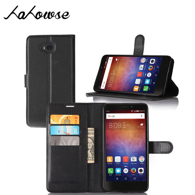 Leather Phone Case For Huawei Ascend XT Case H1611 Cover Magnetic Flip Stand Wallet Shell + Card Holder Coque Ascend XT 6.0""