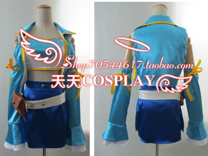 Fairy Tail Lucy Heartfilia Cosplay Costume(China) - Online Buy Wholesale Cosplay Costume Fairy Tail Lucy Heartfilia