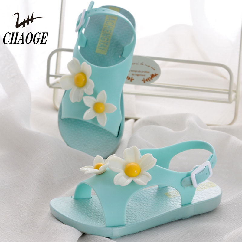 2018 New Sun Flower Infant Child Breathable Buckle Sandals Free Shipping #12