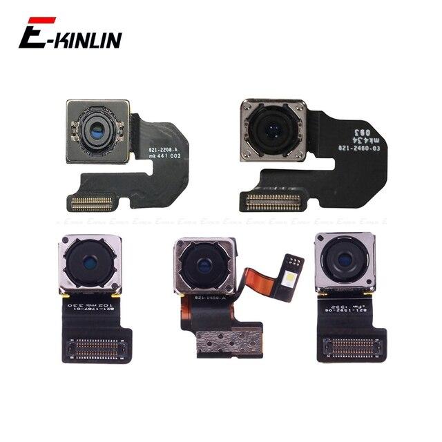 100% новый задний объектив камеры гибкий кабель Запчасти для iPhone 4 4S 5 5S 5C 6 Plus основной модуль камеры