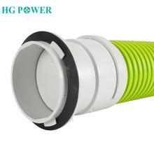 75 мм Пластик рядный канальный вентилятор разъем вентиляционная