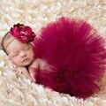 Nueva Venta Caliente Recién Nacido Traje Traje de Bebé Girls Princess Tutu Falda A Juego de La Venda accesorios de Fotografía De Moda TS017