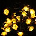2M Rose Flowers LED String Light 20LEDs Strip Lights for Party Wedding Christmas Decoration