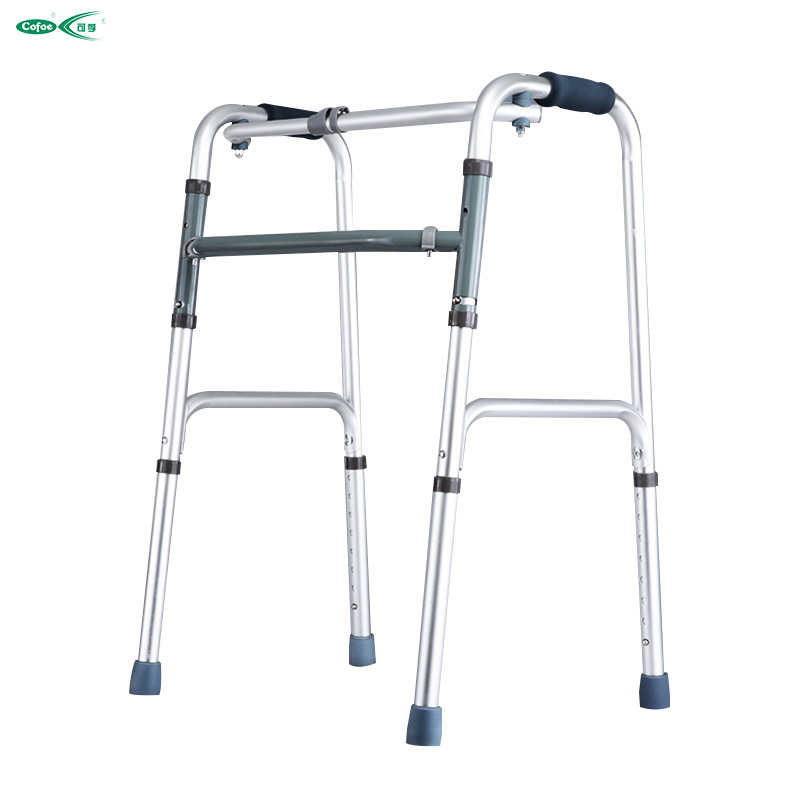Medical equipment health care product aluminum adjustable walking aid walker ...